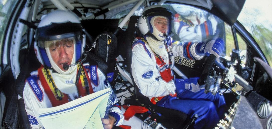 Colin McRae McKlein in-car