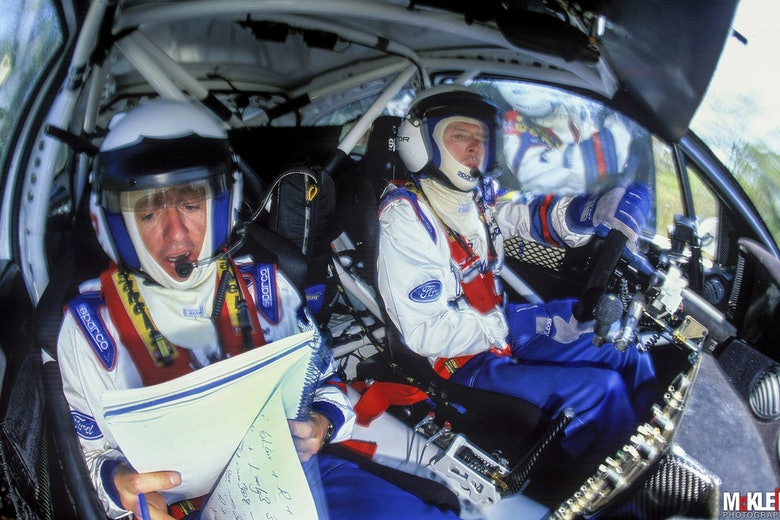 Colin McRae McKlein in-car