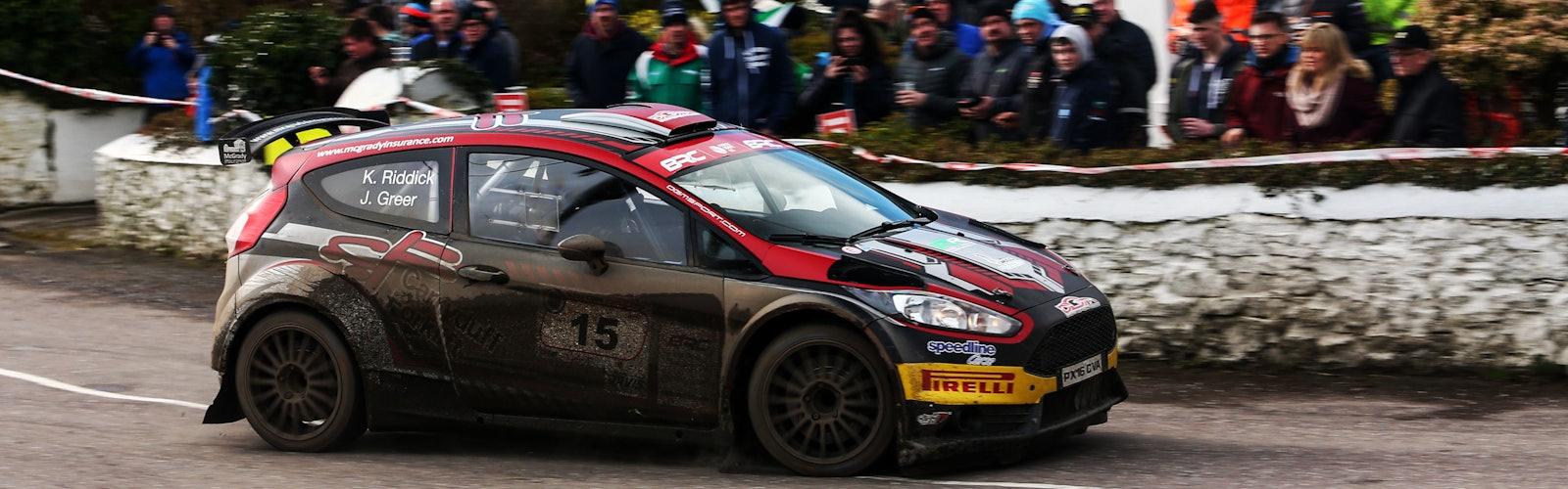 Jonny Greer / Kirsty Riddick Ford Fiesta R5