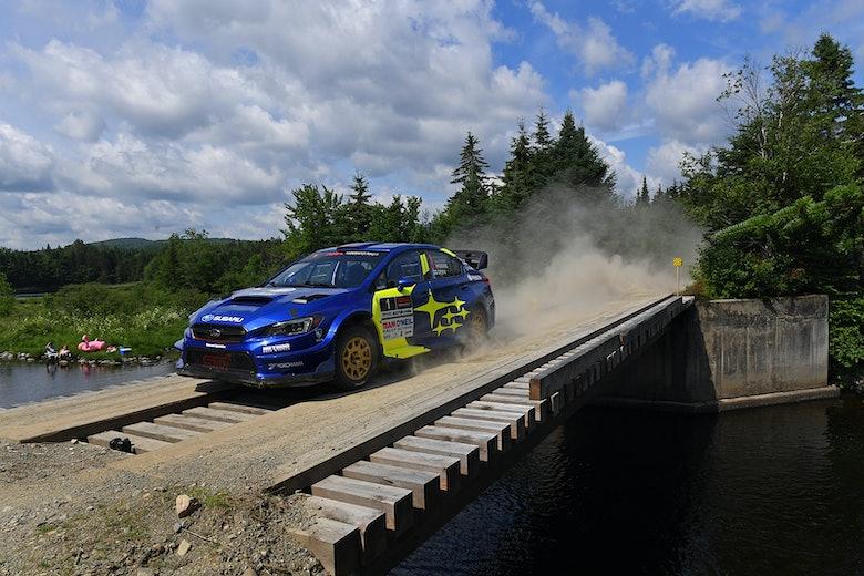 David Higgins Subaru USA New England Rally ARA 2019