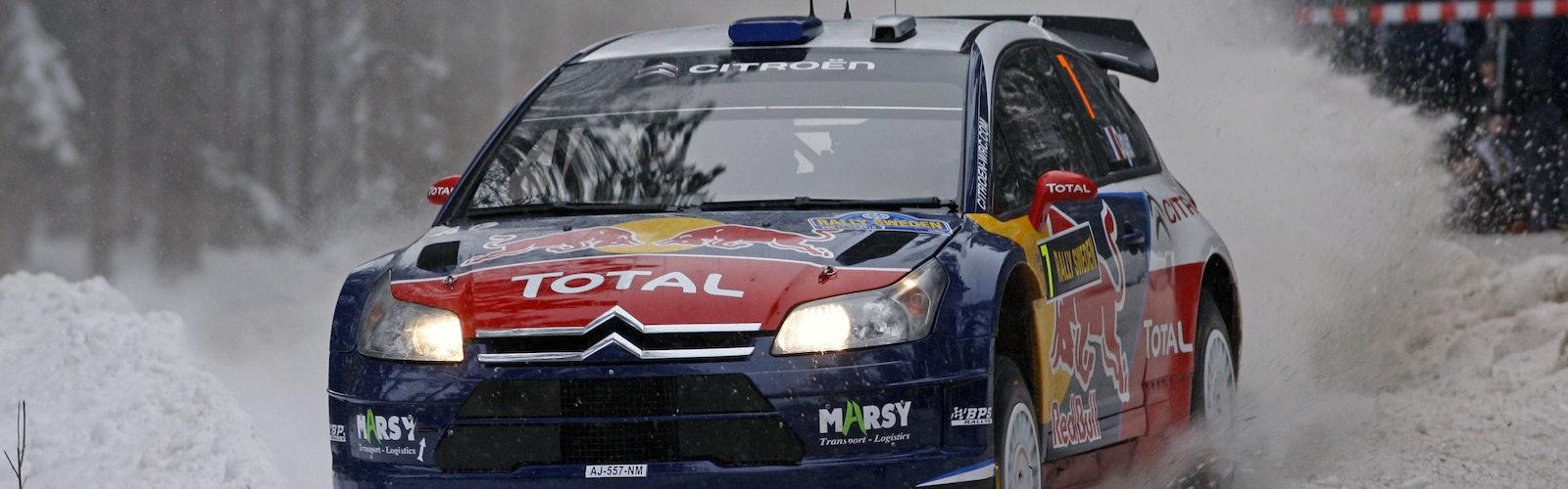 Ogier Citroen Rally Sweden 2010