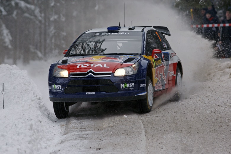 Ogier Citroen Rally Sweden 2010