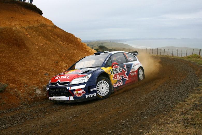Sebastien Ogier Citroën Rally New Zealand 2012 WRC