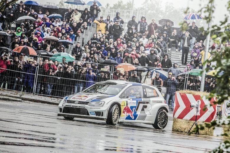 Sébastien Ogier VW WRC Rally France 2013