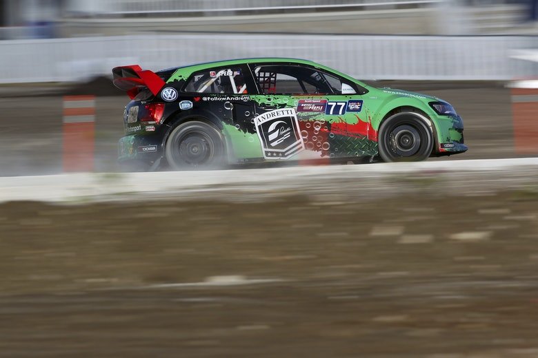Scott Speed Andretti Autosport Volkswagen Polo Barbados Global Rallycross 2014
