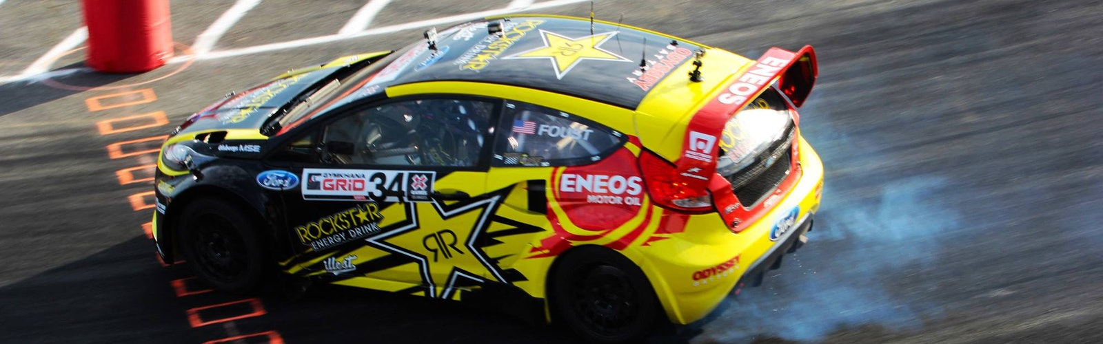 Tanner Foust, Ford Fiesta, 2013 X Games Los Angeles, Gymkhana