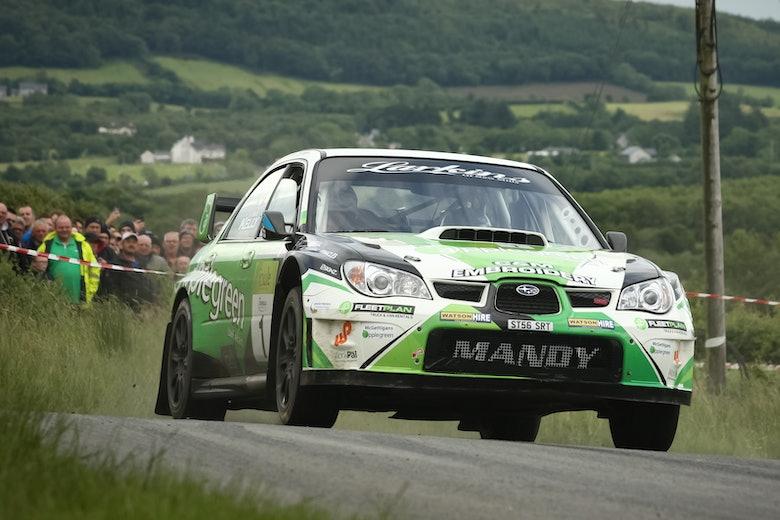 Manus Kelly, Donegal Rally 2018, Subaru Impreza S12B WRC 2007
