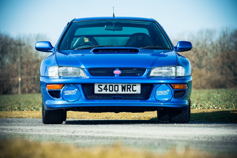 1185723_1998 Subaru Impreza 22B STi front HR