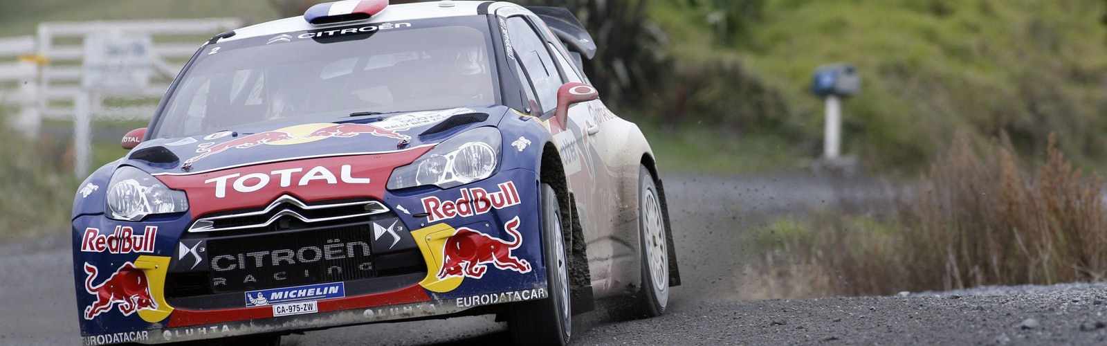 Sebastien Loeb Citroen Rally New Zealand WRC 2012