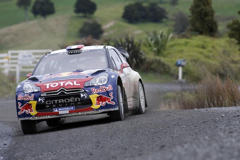 Sebastien Loeb Citroen Rally New Zealand WRC 2012