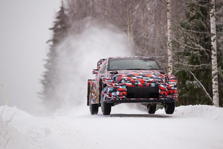 Toyota GR Yaris WRC Testing