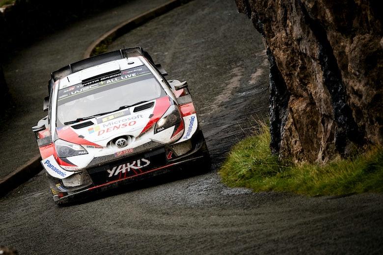 Ott Tänak Toyota WRC Rally GB 2019