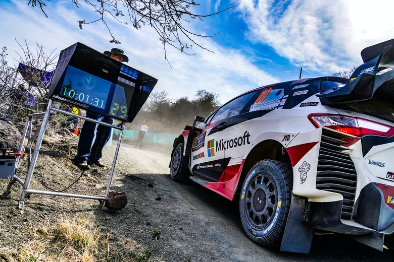 Kalle Rovanperä Toyota WRC Rally Mexico 2020