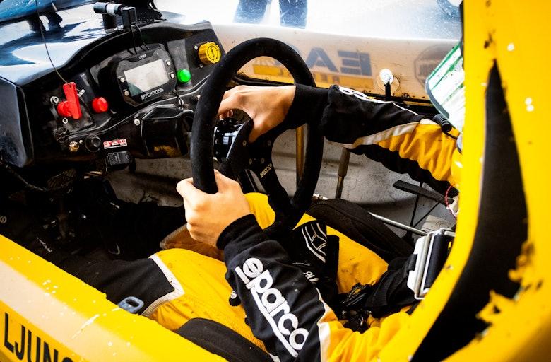 Julius Ljungdahl, #YellowSquad, 2019 RallyX Nordic Tierp Arena, Speed Car Xtrem Cross Car
