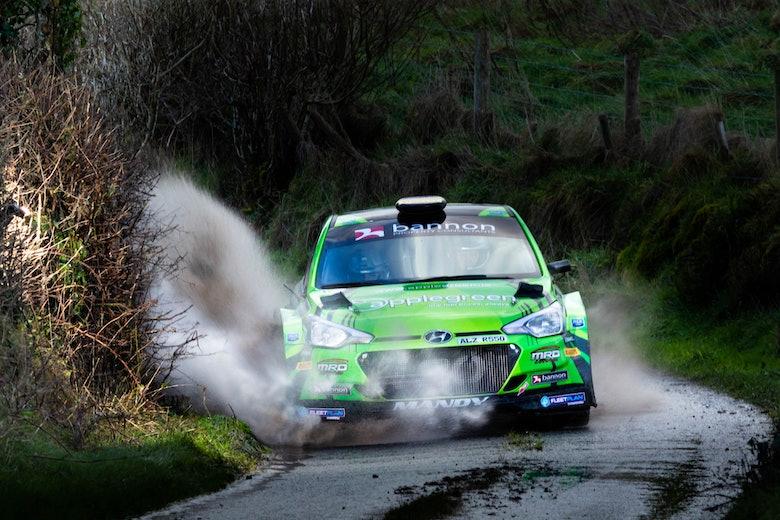 Manus Kelly, 2019 Galway Rally, Hyundai i20 R5