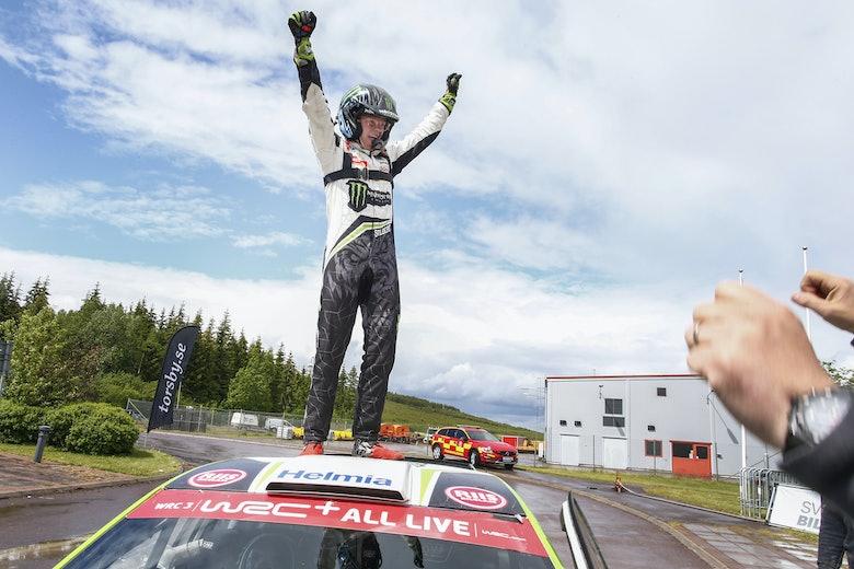 Swedish Rally Lockdown 2020-06-07 Foto Tony WelamOliver Solberg