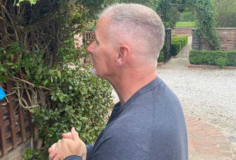 Colin Clark's close shave