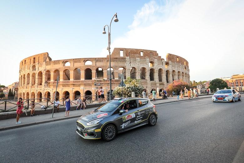 AUTO - ERC RALLY DI ROMA  2019