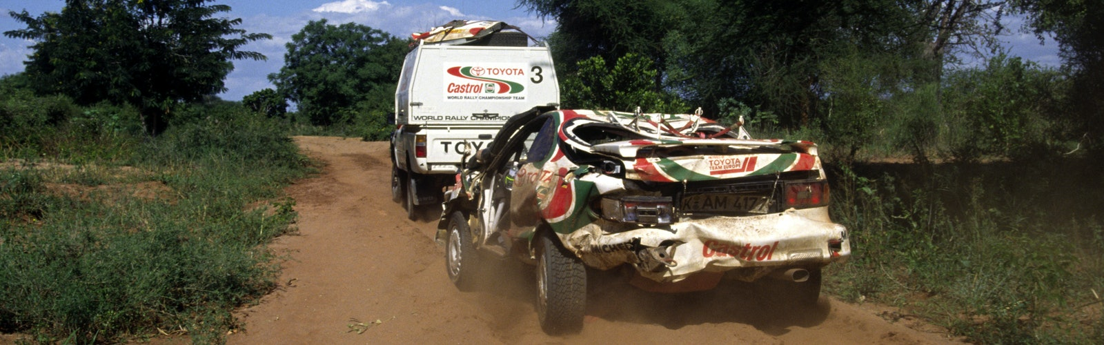 Juha Kankkunen / Nicky Grist – Toyota Team Europe Celica – 1994 WRC Safari Rally