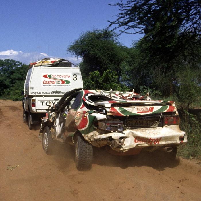 Juha Kankkunen / Nicky Grist - Toyota Team Europe Celica - 1994 WRC Safari Rally