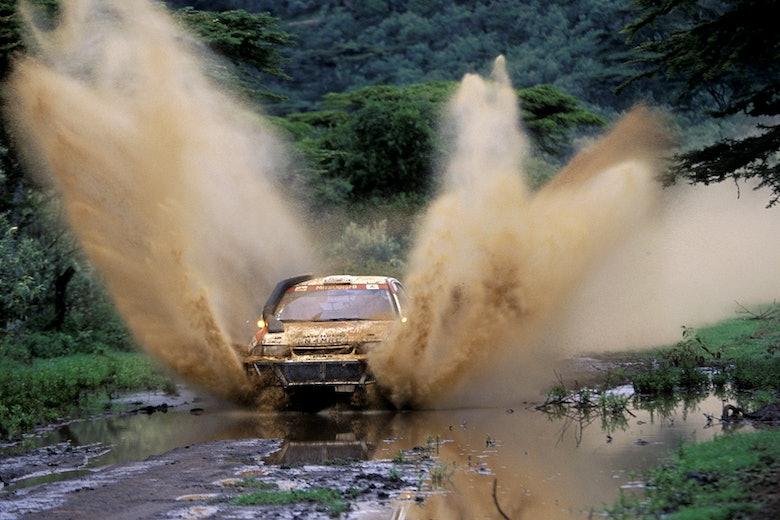 Tommi Makinen / Seppo Harjanne – Mistubishi Lancer Evo III – 1996 WRC Safari Rally