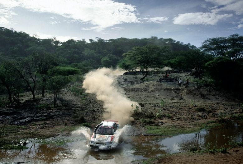 Tommi Makinen / Seppo Harjanne - 1996 WRC Safari Rally