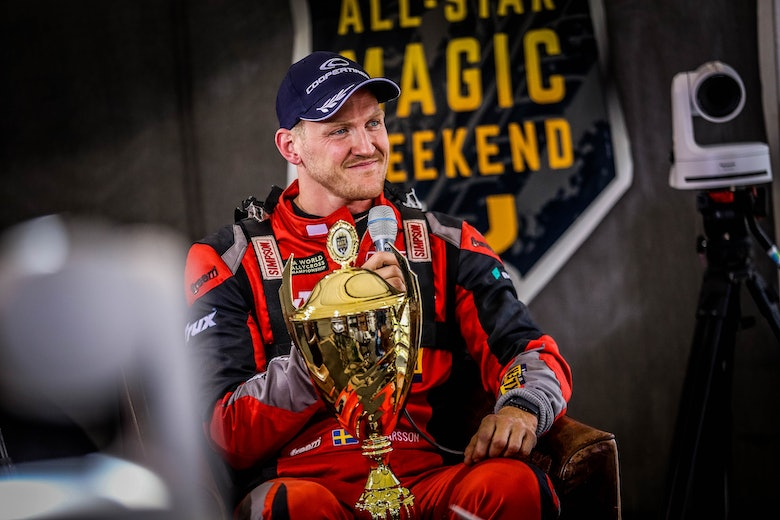 Larrson RallyXNordic Magic Weekend reaction