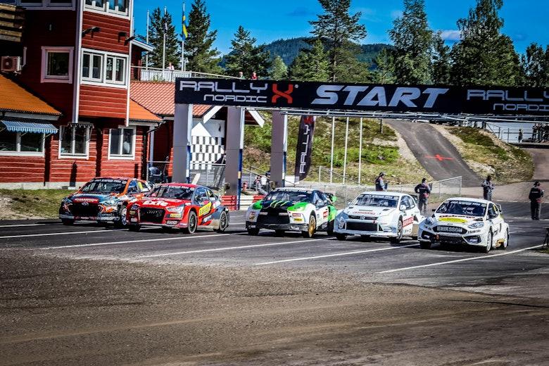 RallyX Nordic start