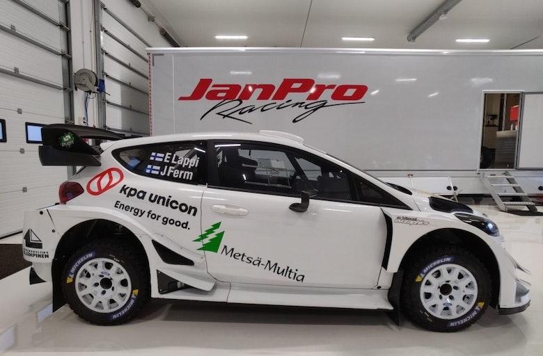 Esapekka Lappi / Janne Ferm - JanPro Racing - Ford Fiesta WRC - 2020 Jämsä Äijät Ralli