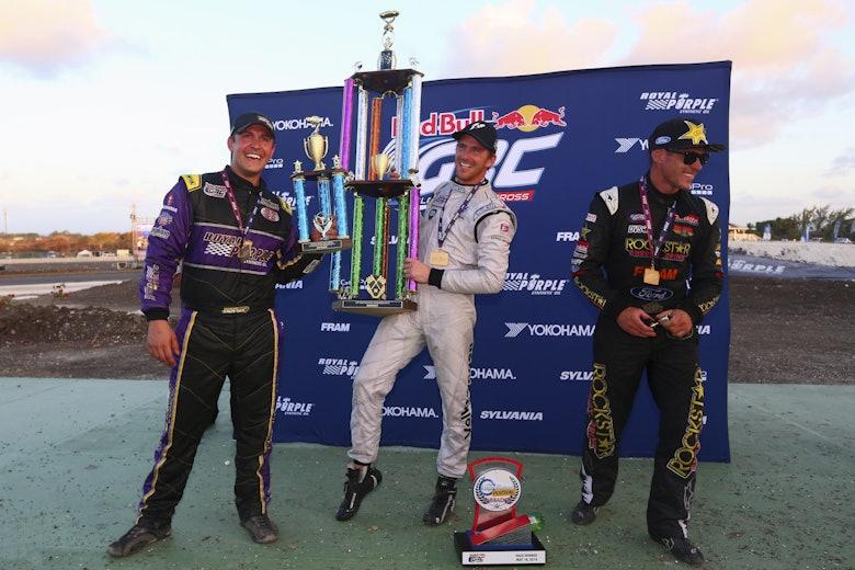 Steve Arpin, Scott Speed, Brian Deegan - Winners