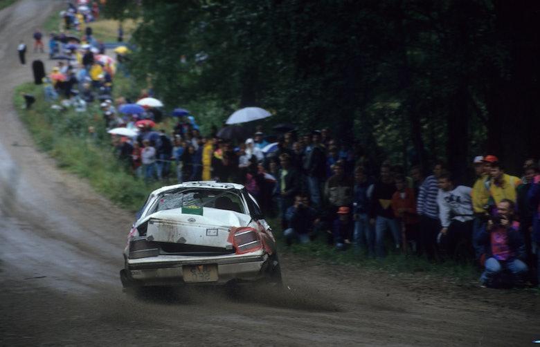 Colin McRae / Derek Ringer - Subaru Legacy 4WD - 1992 WRC 1000 Lakes Finland