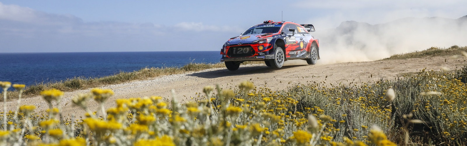 Andreas Mikkelsen Hyundai WRC Rally Italy 2019