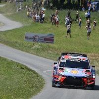 Ott Tanak Hyundai Rally di Alba 2020