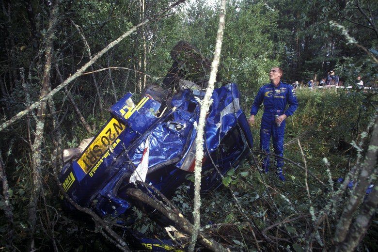 Richard Burns / Robert Reid – Subaru Impreza P2000 – 2000 WRC Rally Finland