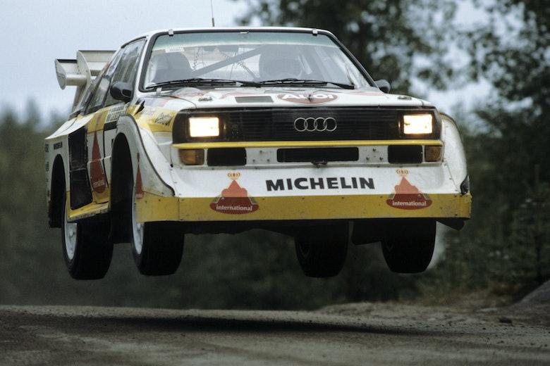 Hannu Mikkola - Audi Quattro E2 - 1985 1000 Lakes Rally Finland