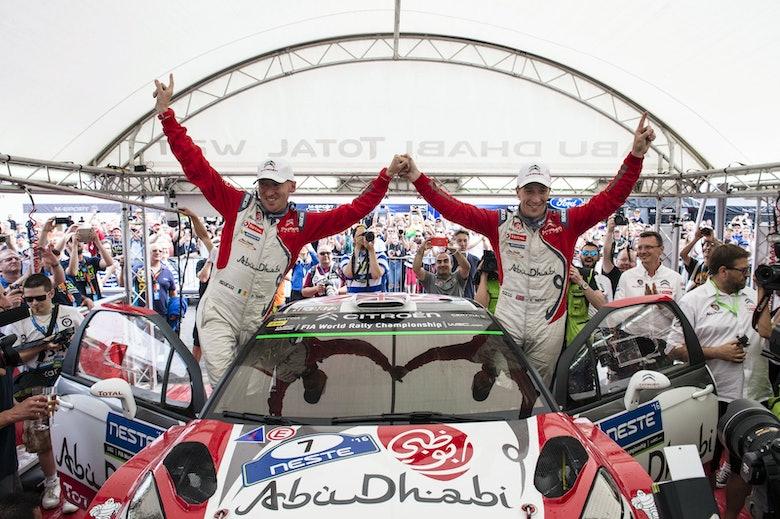 Kris Meeke & Paul Nagle - Winner