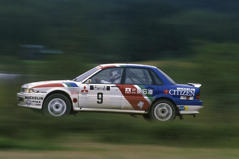MCKLEIN-Mickael-Eriksson-Mitsubishi Galant-VR4-1989-Rally-Finland
