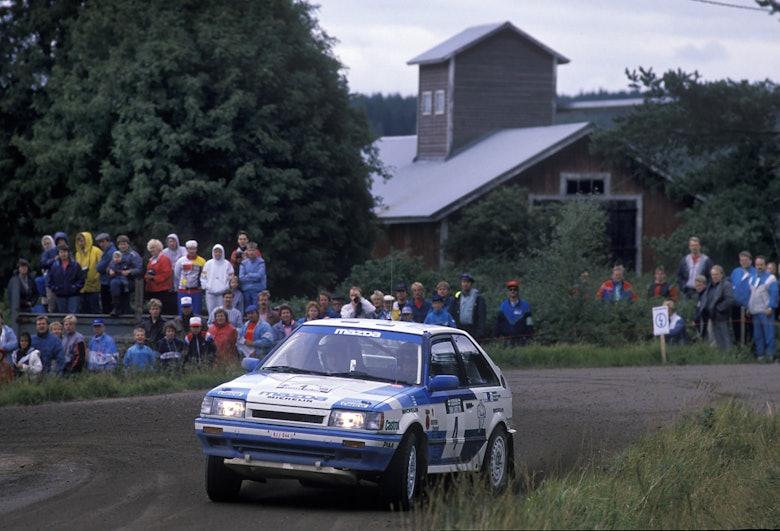 MCKLEIN-Timo-Salonen-Mazda-323-Turbo-1989-Rally-Finland