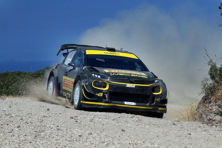 TEST PIRELLI SARDEGNA WRC