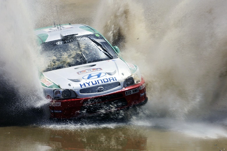 Alister McRae Hyundai WRC Australia 2000