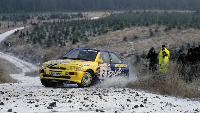 Malcolm Wilson 1993 RAC Rally