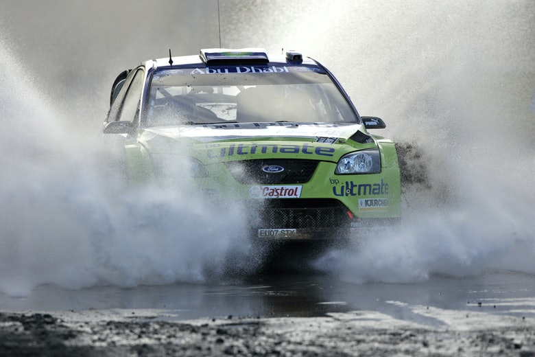 Gronholmm11NZ07129 Ford Focus WRC07 Rally New Zealand