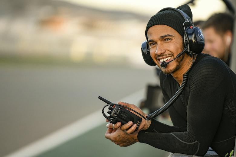 Lewis Hamilton and Valentino Rossi – Valencia #LH44VR46