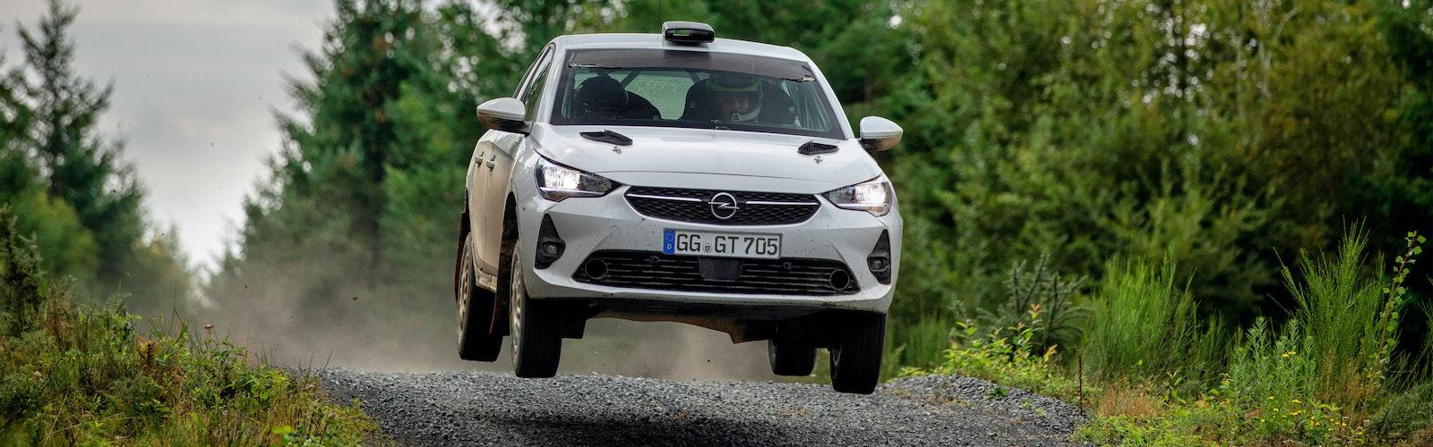 Testfahrten Opel Corsa R4, 10./11. September 2020 in Frankreich
