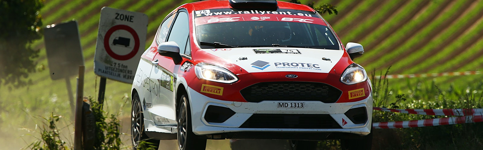 Ruairi Bell / Darren Garrod Ford Fiesta R2T