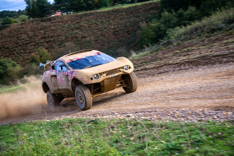 Bahrain Raid Xtreme unleashes T1 vehicle at first test in Millbrook (1)