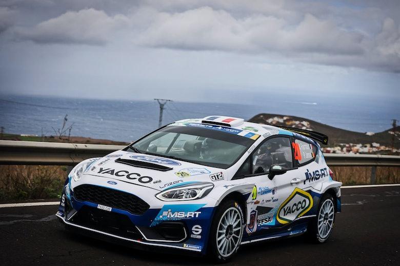 Adrien Fourmaux M-Sport Ford ERC Canary Islands 2020