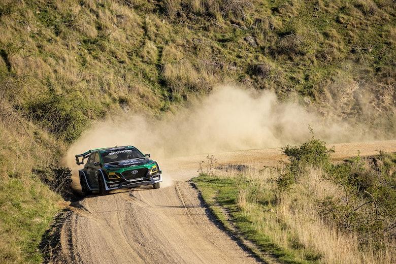Hyundai EV rally car _action4 by Graeme Murray Photography