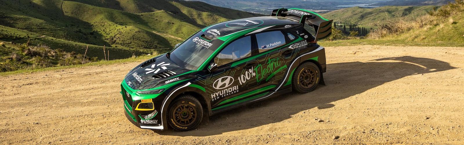 Hyundai EV rally car _static2 by Graeme Murray Photography