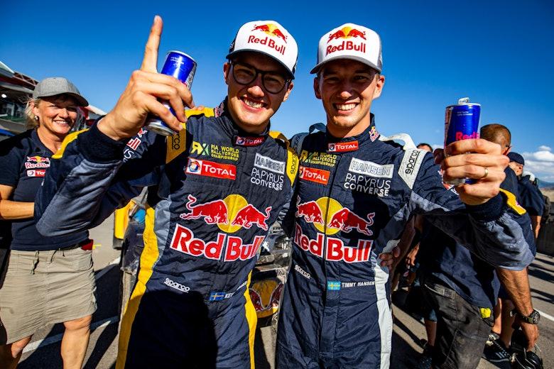 (L-R) Kevin Hansen and Timmy Hansen
